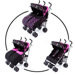 3.Kids Kargo Twin side by side