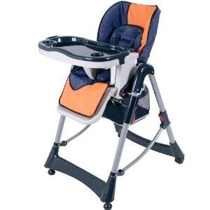 babyfield - chaise haute règlable pour bébé - chaise rose avec ... - Location Chaise Haute Bebe