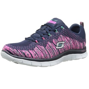 1.Skechers Flex Appeal Talent Flair