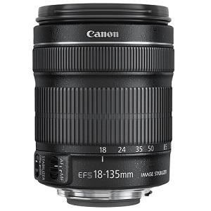 2.Canon EF-S 18-135