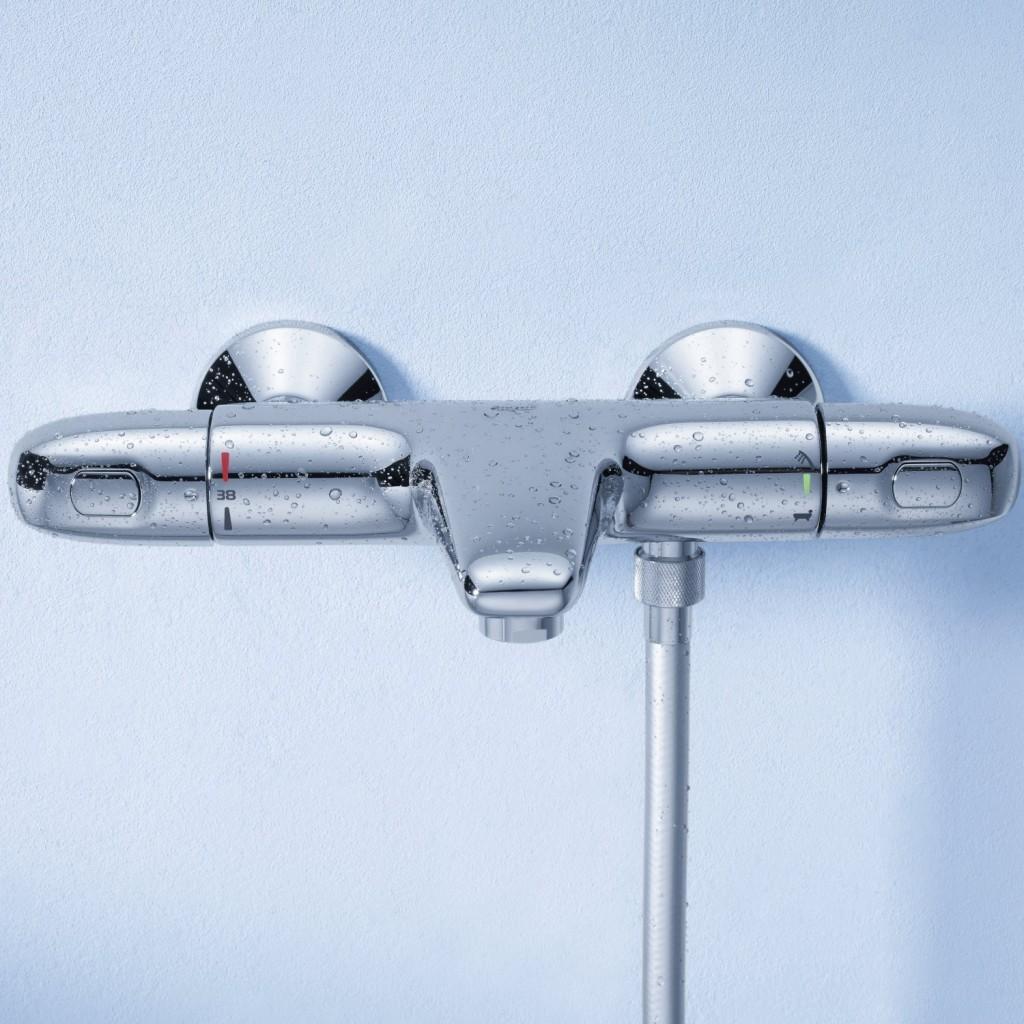 Classement guide d 39 achat top mitigeurs thermostatiques - Mitigeur thermostatique douche bloque ...
