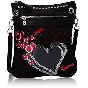 3.Desigual Bols Bando Heart Punk