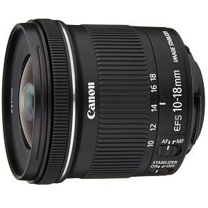 4.Canon EF-S 10-18