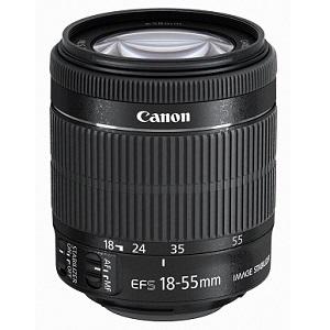 5.Canon 18 - 55 mm