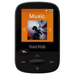 8.SanDisk Lecteur MP3 Clip Sport 4 Go Noir