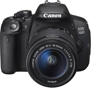 1.Canon EOS 700D