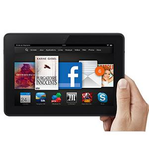 3.Kindle Fire HDX
