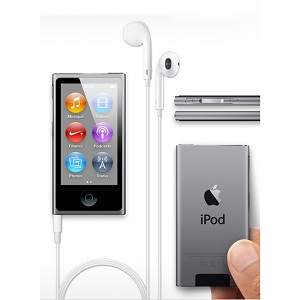 1.2 Apple iPod nano 16 Go Gris
