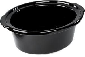 2.Andrew James - Mijoteuse Premium En Noir De 6,5 Litres