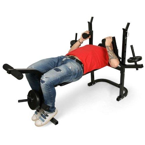 1. Klarfit Banc de Muscu - Fitness