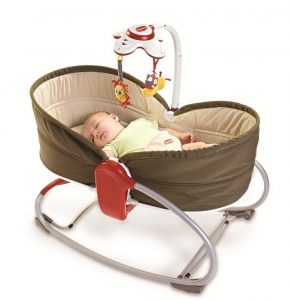 1.1 Tiny Love Balancelle Rocker Napper 3 en 1