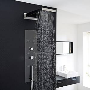 les meilleures colonnes de douche encastrables comparatif en sep 2017. Black Bedroom Furniture Sets. Home Design Ideas