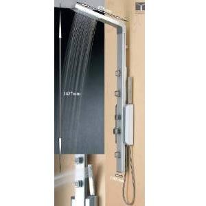 2.Colonne de douche en aluminium