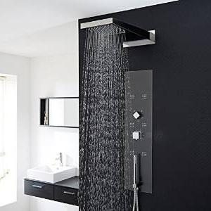 les meilleures colonnes de douche encastrables comparatif en oct 2017. Black Bedroom Furniture Sets. Home Design Ideas