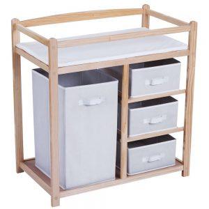 1.1 Table à langer - 1 grande boîte