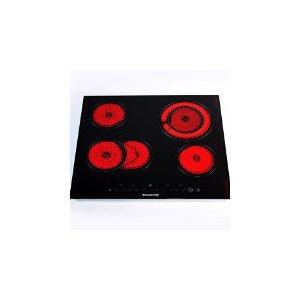 2.Arebos® Plaque de Cuisson Vitrocéramique Table