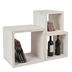 4.Lot de 3 Cube Design