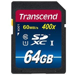 5.Transcend TS64GSDU1PE