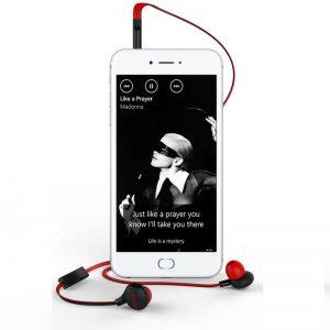 1.3 Ecouteurs Intra-Auriculaire Léger pour le Sport