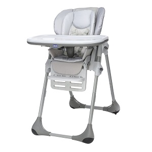 1.Chicco - Polly 2 en 1 Chaise Haute Artic
