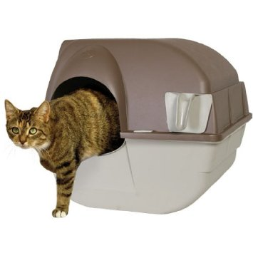Maison de toilette chat LITTER BOX