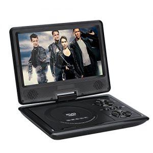 1.2 Lecteur DVD portable 9 pouces sur pivot 270