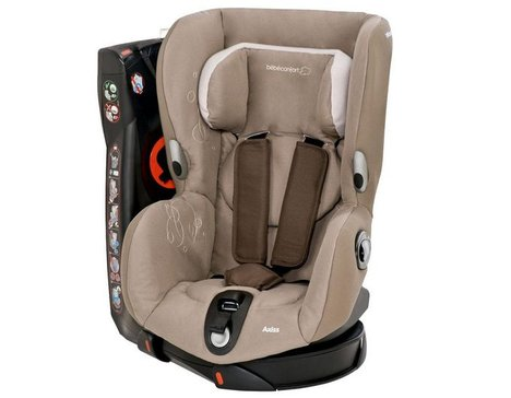 1.Bébé Confort Axiss Siège Auto Groupe 1 Collection 2017 Black Raven