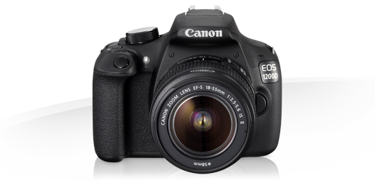 1.Canon EOS 1200D
