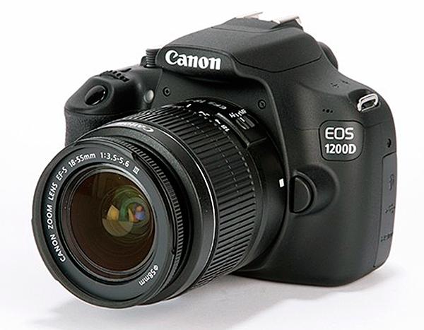 2.Canon EOS 1200D
