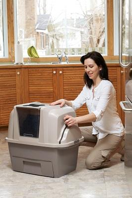 2.Catit Chat Maison de Toilette Smatsift