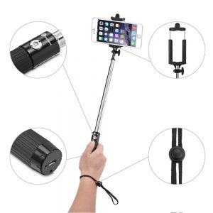 2.TaoTronics - Perche de Selfie stick