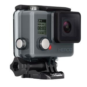 5.GoPro Hero+Wi-Fi Noir