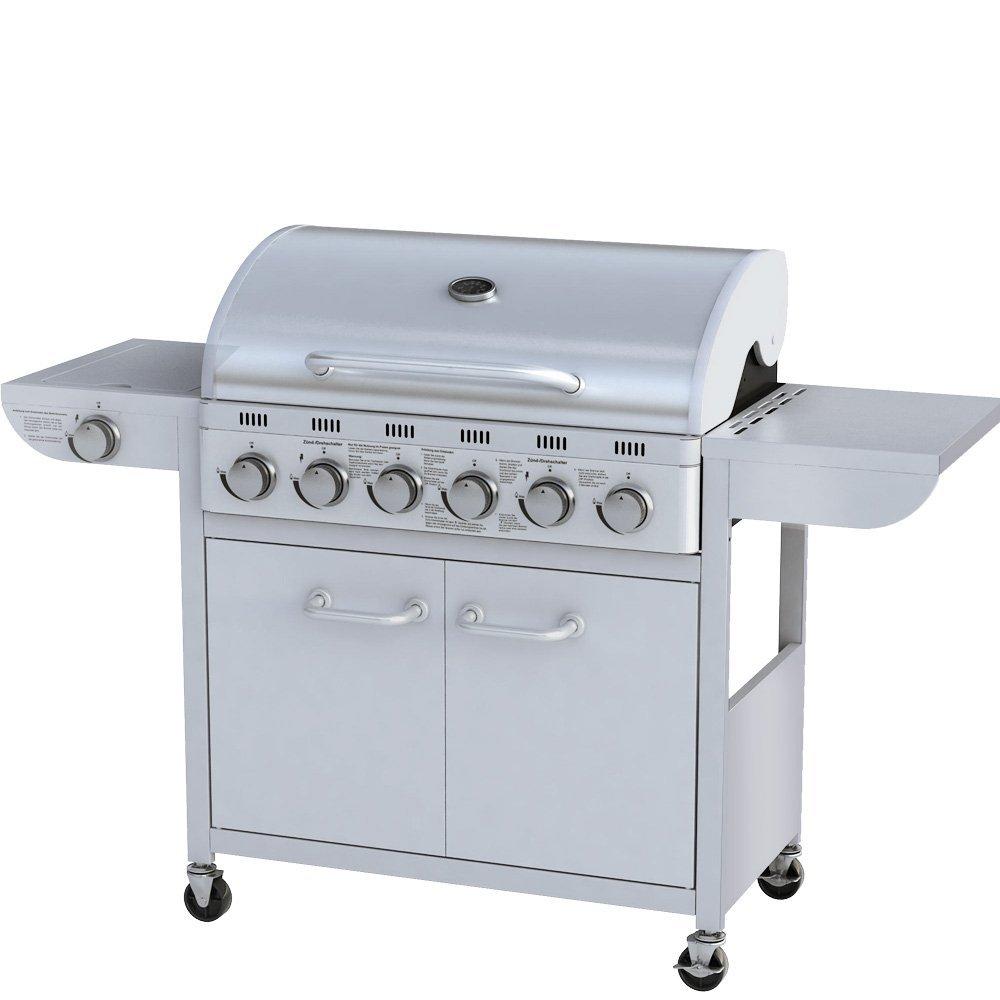A.1 Barbecue grill à gaz Argenté