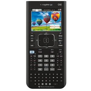 1.Texas Instruments TI-Nspire CX CAS