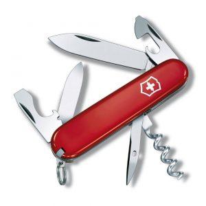 1.VICTORINOX Couteau d'officier Tourist rouge