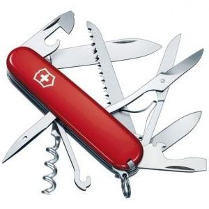 2.VICTORINOX Couteau d'officier Tourist rouge