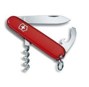 3.VICTORINOX Couteau d'officier Tourist rouge