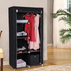 luarmoire penderie en tissu est un meuble qui prend la forme duune armoire classique mais qui. Black Bedroom Furniture Sets. Home Design Ideas