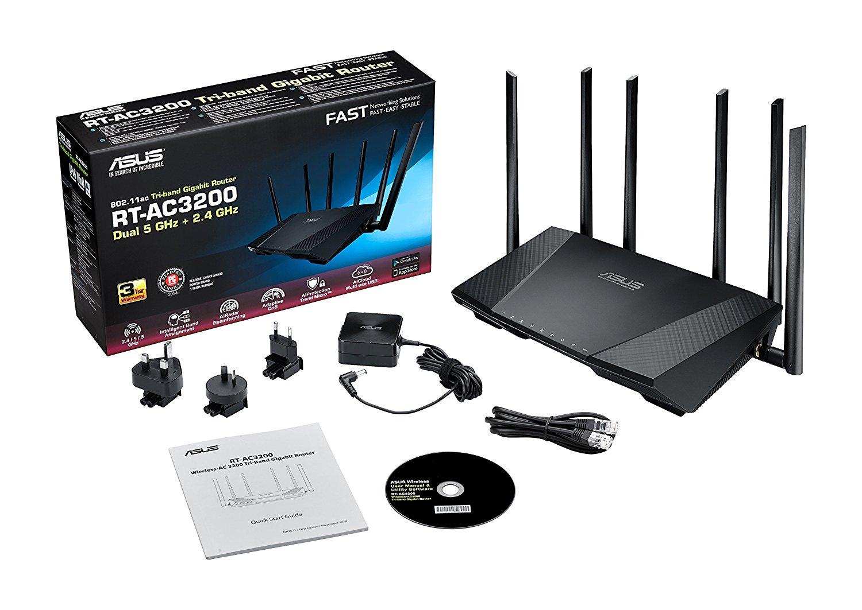 Routeur wifi puissant asus rt ac3200 avis tests prix for Repeteur wifi exterieur