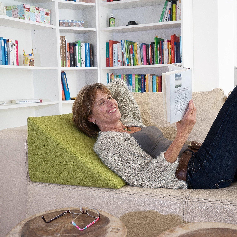 coussin de lecture salosan avis tests prix en nov 2018. Black Bedroom Furniture Sets. Home Design Ideas
