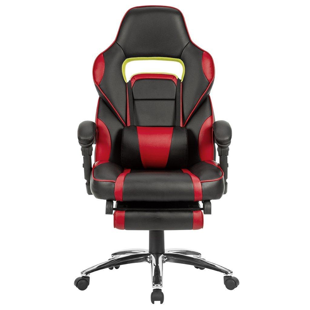 les meilleurs fauteuils de bureau avec repose pieds comparatif en avr 2018. Black Bedroom Furniture Sets. Home Design Ideas