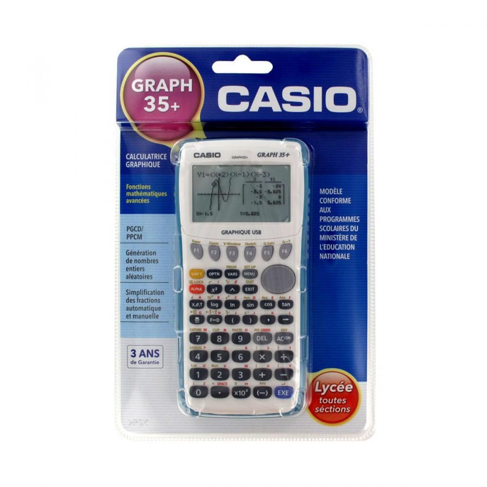 Calculatrice scientifique casio graph 35 e avis tests for Calculatrice prix