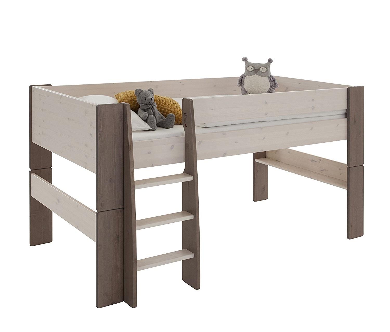 lit mezzanine mi hauteur guide d achat pour en choisir un bon en avr 2018. Black Bedroom Furniture Sets. Home Design Ideas