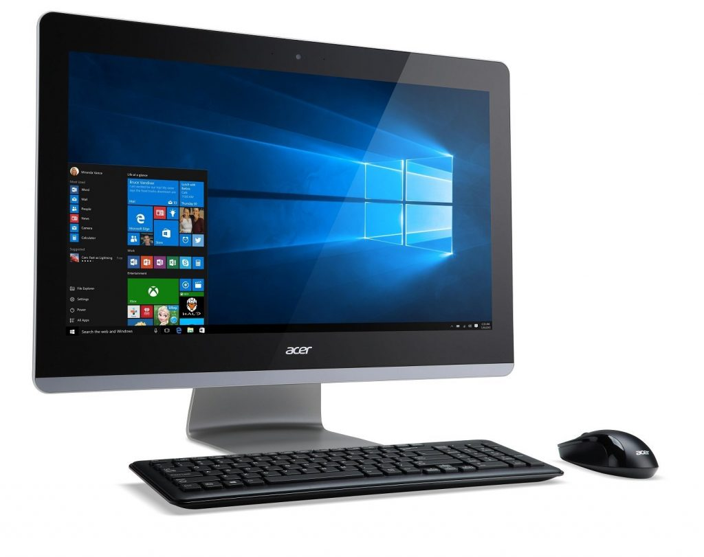 ordinateur tout en un acer aspire z3 715 avis tests prix en avr 2018. Black Bedroom Furniture Sets. Home Design Ideas