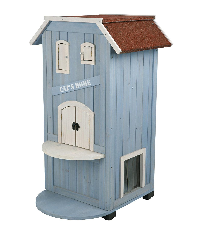 Maison en bois pour chat guide d achat pour en choisir une bonne en avr 2018 - Maison pour chat en bois ...