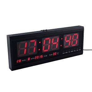 horloge numerique murale a pile led d numrique numble horloge table dualarme montre affichage. Black Bedroom Furniture Sets. Home Design Ideas