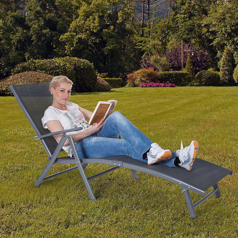 Les meilleures chaises longue de jardin comparatif en for Meilleure chaise longue