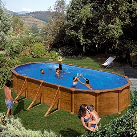 les meilleures piscines hors sol en bois comparatif en. Black Bedroom Furniture Sets. Home Design Ideas
