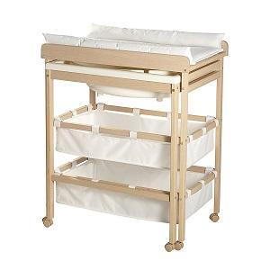 les meilleures tables langer avec baignoire coulissante. Black Bedroom Furniture Sets. Home Design Ideas