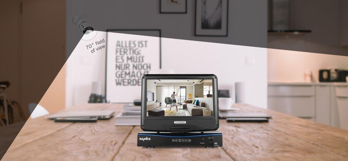 les meilleurs syst mes de surveillance sans fil comparatif en avr 2018. Black Bedroom Furniture Sets. Home Design Ideas